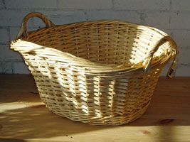 Some of Peter's baskets
