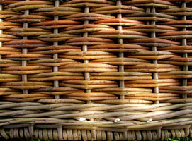 detail of basket
